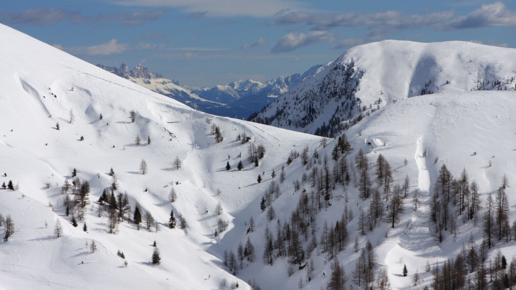 Bolzano which includes snow and landscape views