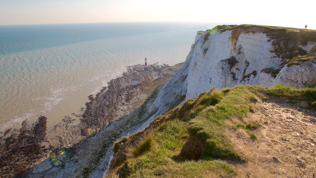 Beachy Head featuring general coastal views