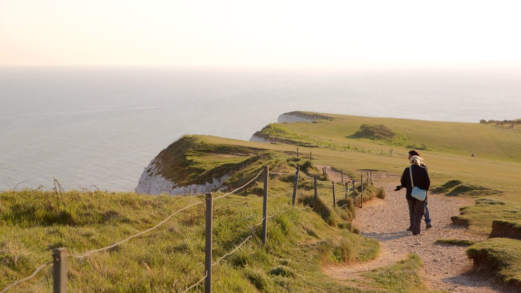 Beachy Head which includes general coastal views as well as a small group of people