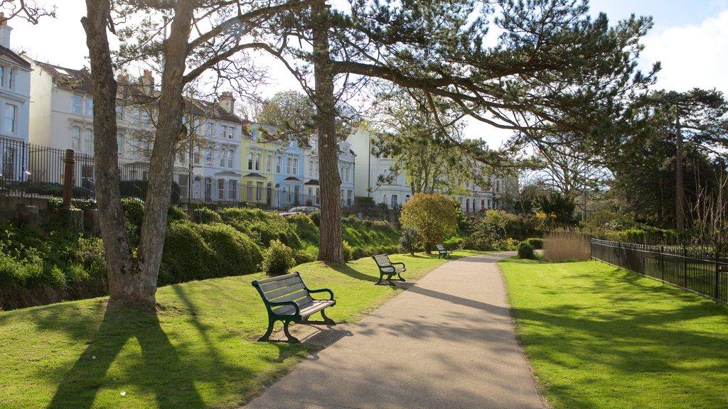 Alexandra Park featuring a garden