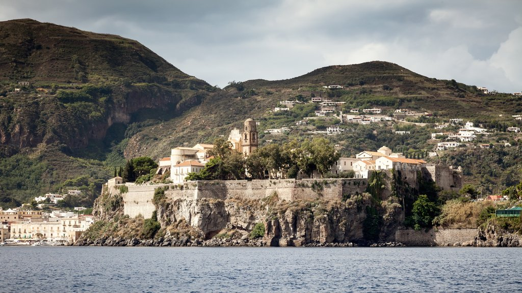 Lipari which includes heritage elements and a city