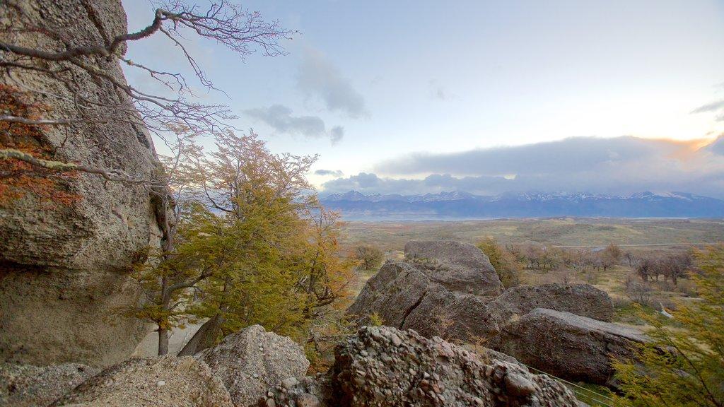 Cueva del Milodon featuring landscape views