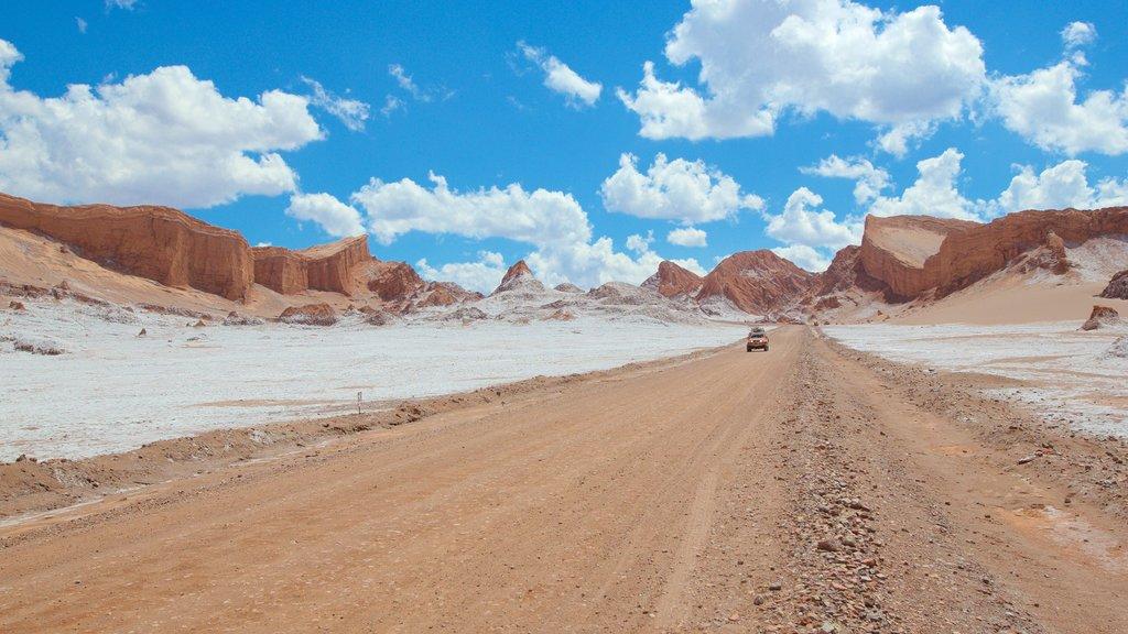 San Pedro de Atacama which includes landscape views and desert views