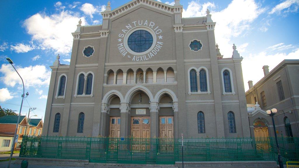 Santuario Maria Auxiliadora which includes a church or cathedral