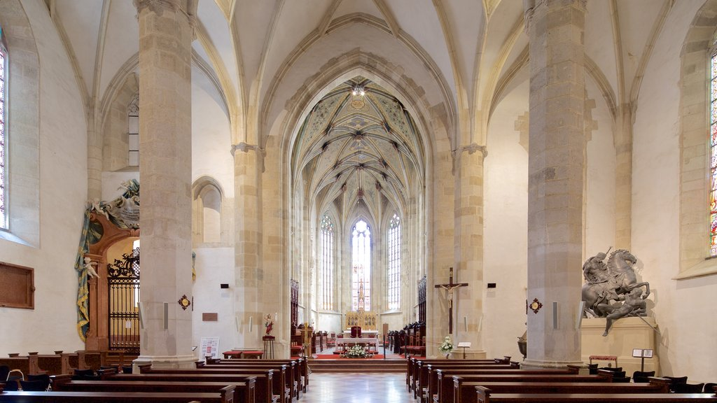 St. Martin\'s Cathedral featuring interior views, heritage architecture and a church or cathedral