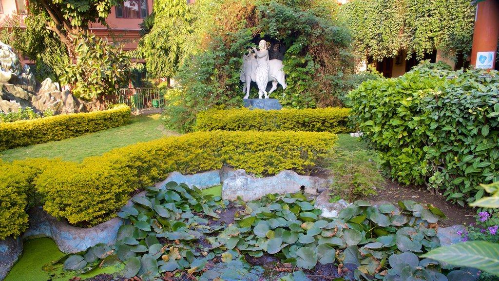 Parmarth Niketan which includes a garden