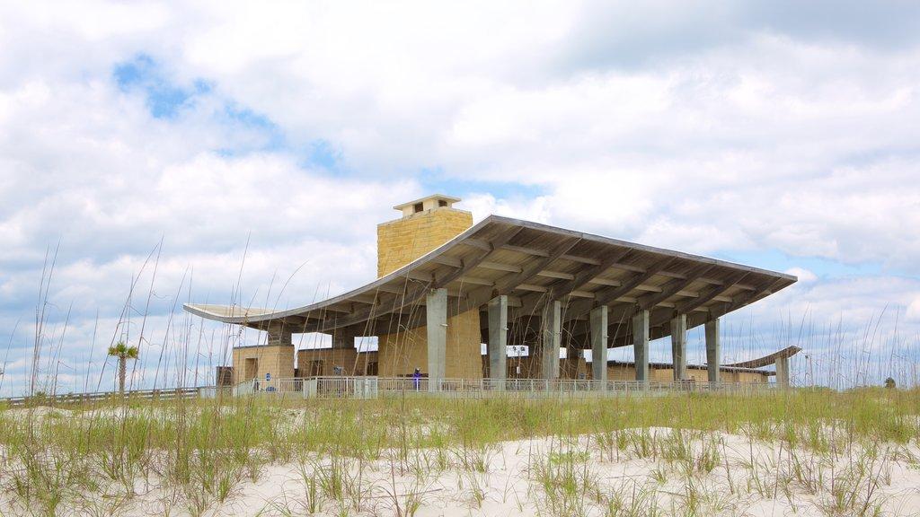 Gulf State Park showing modern architecture
