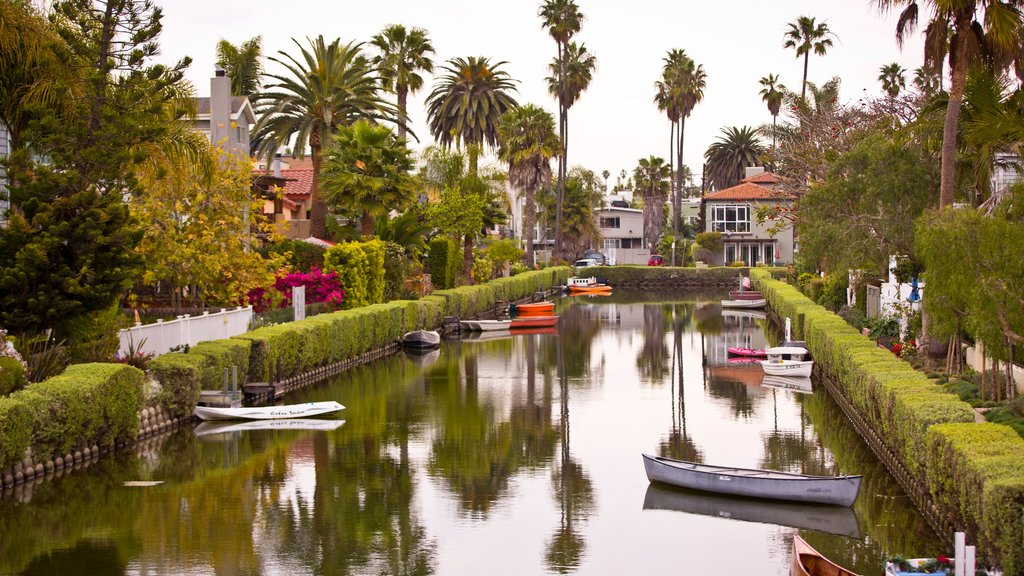 Venice Beach which includes a river or creek and kayaking or canoeing