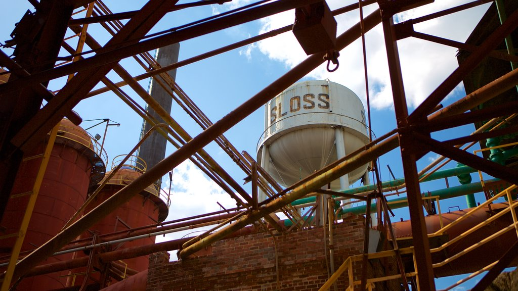 Sloss Furnaces which includes industrial elements