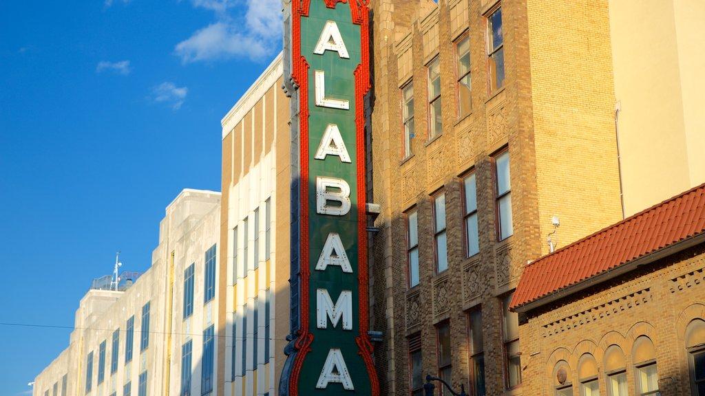 Birmingham featuring signage