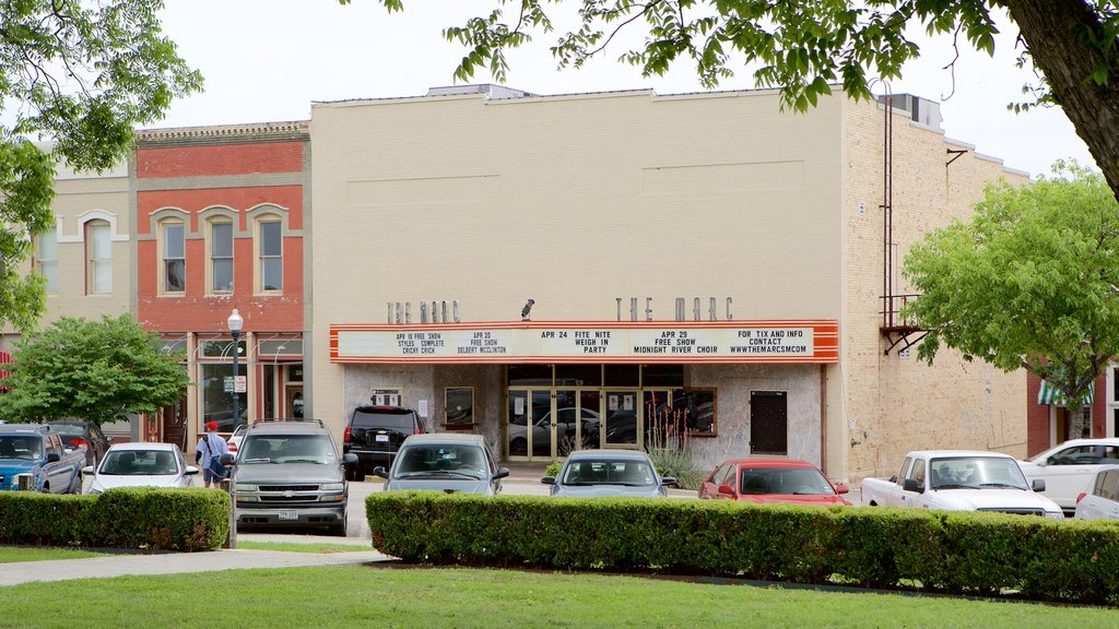 San Marcos showing heritage architecture