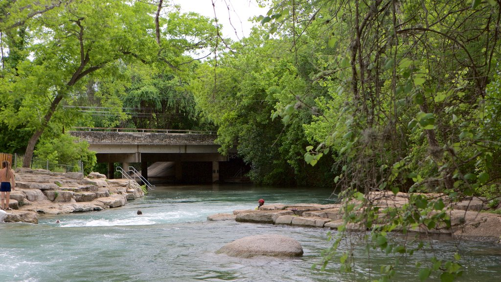 San Marcos showing a park, a river or creek and rainforest