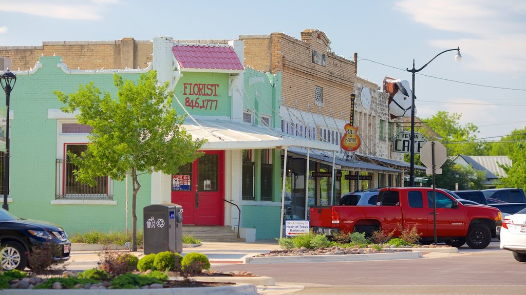 Hutto showing a small town or village