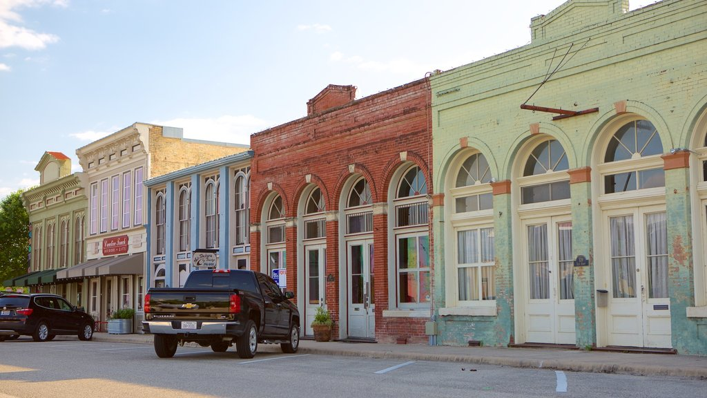 Hutto which includes heritage architecture