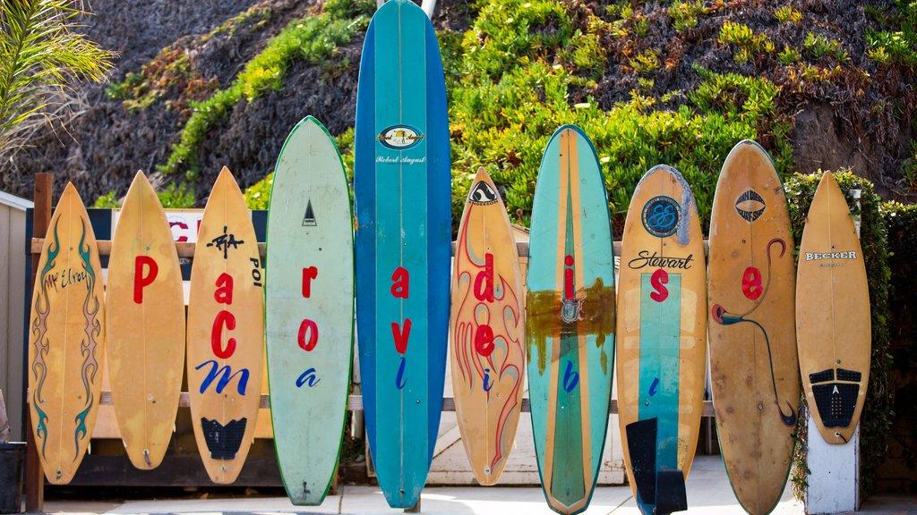 Malibu featuring signage