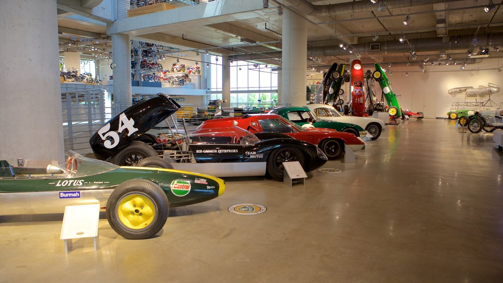 Barber Motorsports Park which includes interior views