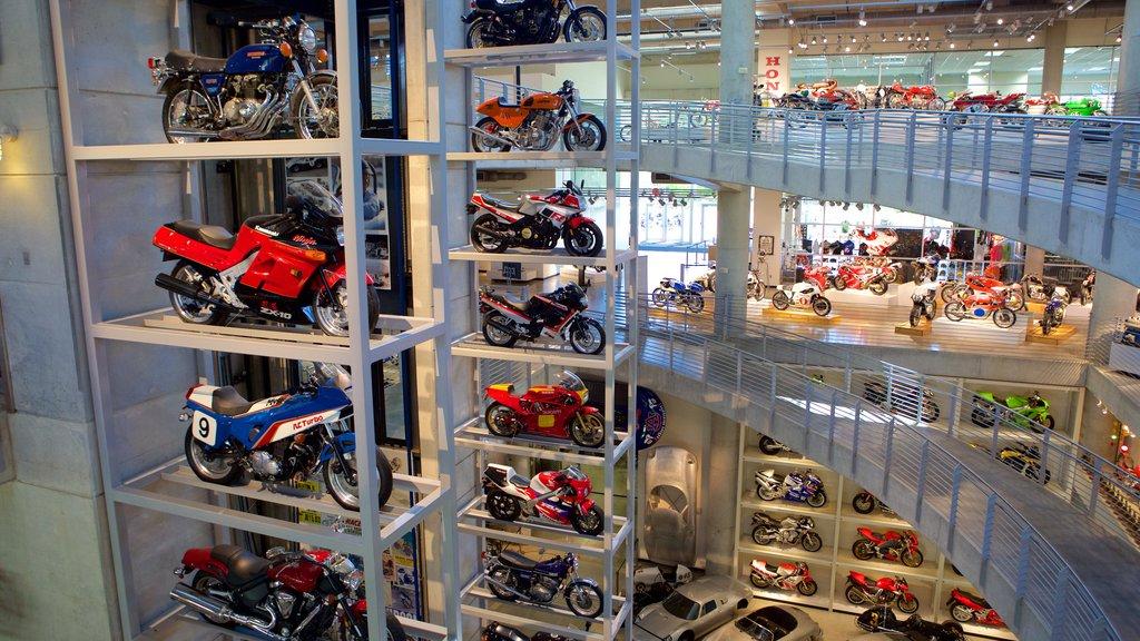 Barber Motorsports Park featuring interior views