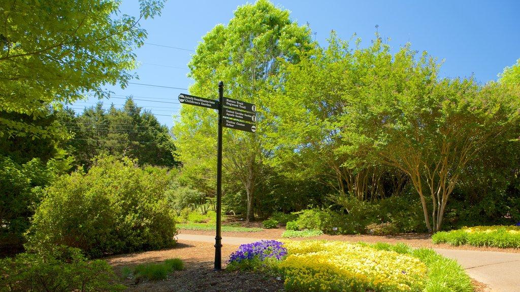 Huntsville Botanical Garden featuring a garden
