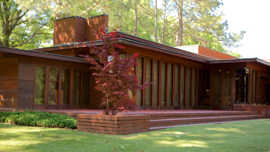 Frank Lloyd Wright Rosenbaum House which includes a house and modern architecture