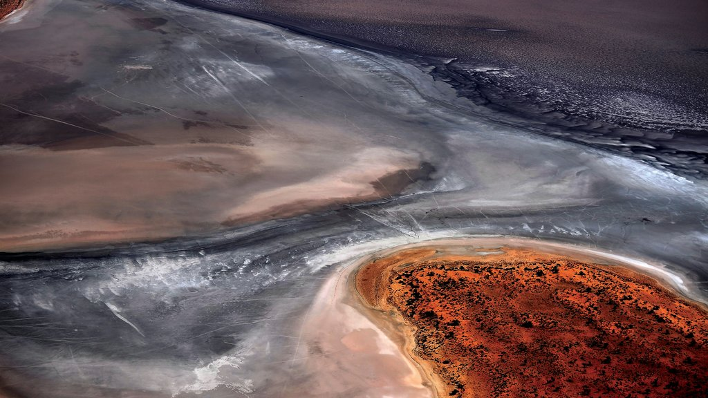 Parque Nacional Uluru-Kata Tjuta mostrando vistas al desierto