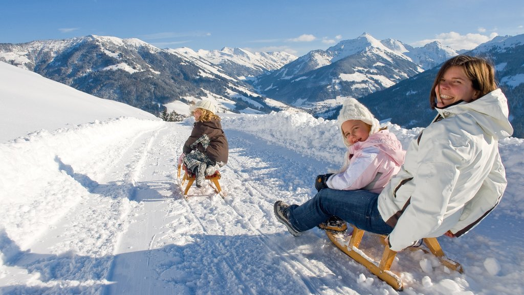 Ski Jewel Alpbachtal - Wildschoenau featuring snow tubing, snow and mountains