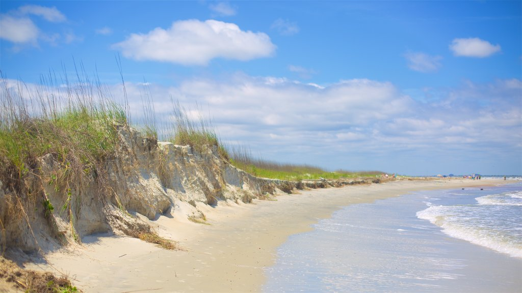 Tybee Island showing a beach
