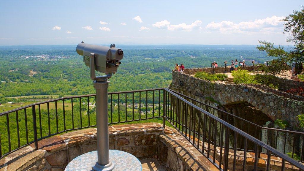 Lookout Mountain que incluye vistas y escenas tranquilas