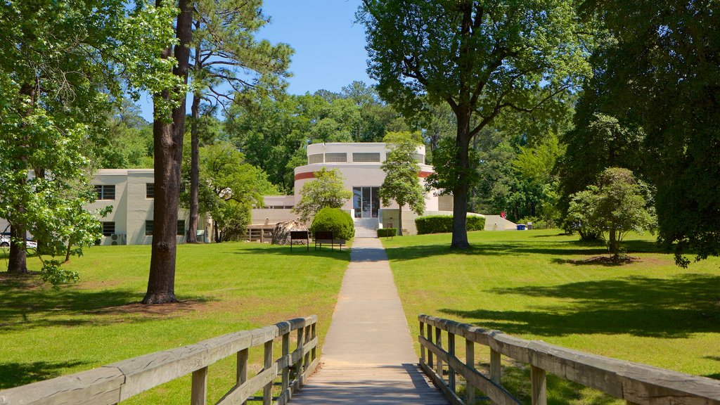 Ocmulgee National Monument featuring a park