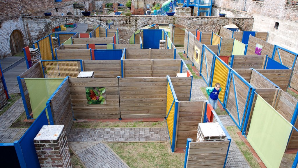 Savannah Children\'s Museum which includes a playground as well as an individual child