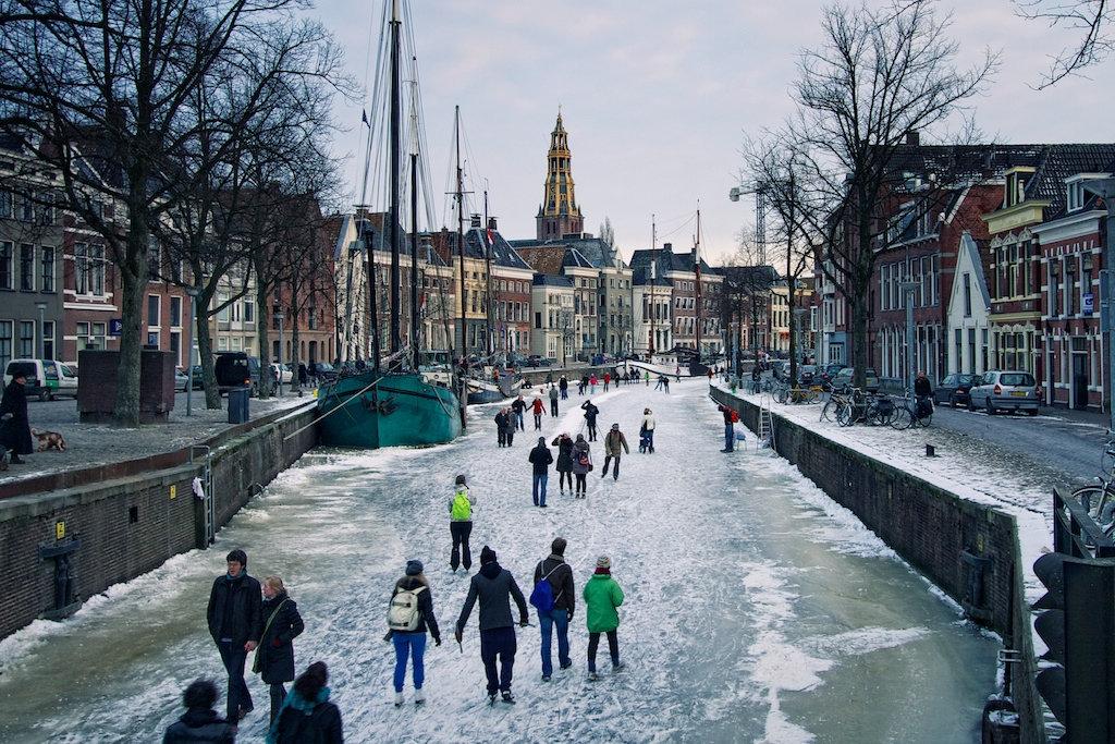 Groningen in winter