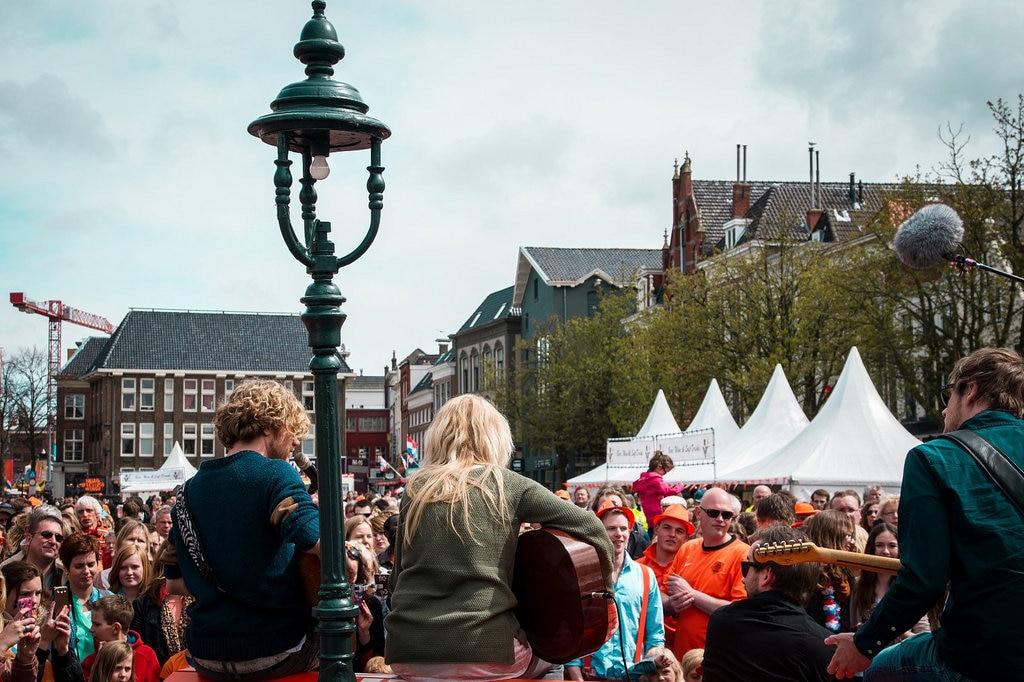 King's Day in Groningen