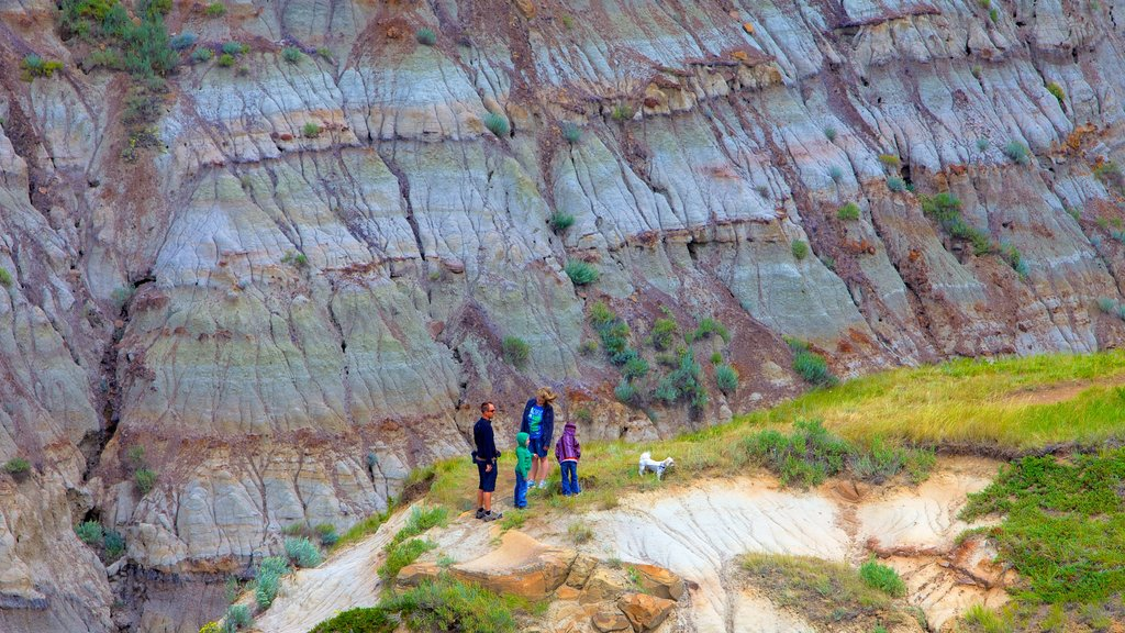 Drumheller Valley as well as a family