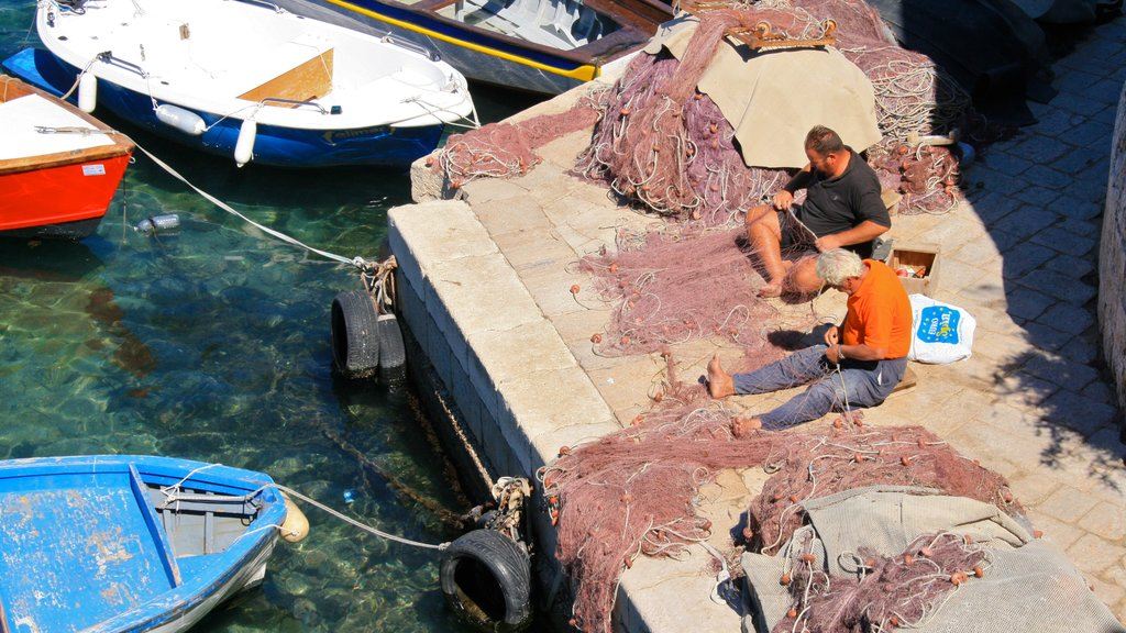 Otranto featuring fishing