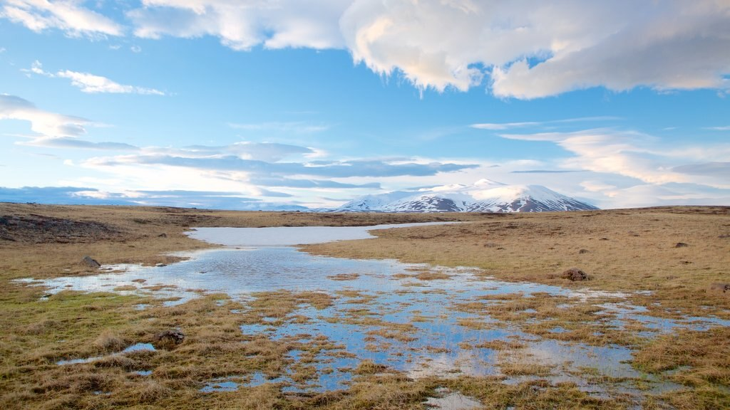 Laugarvatn which includes a river or creek and tranquil scenes