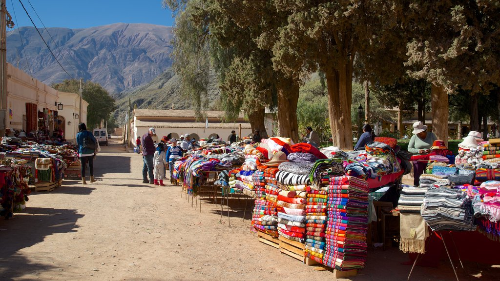 Purmamarca which includes markets