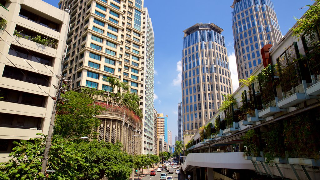 Makati which includes a city