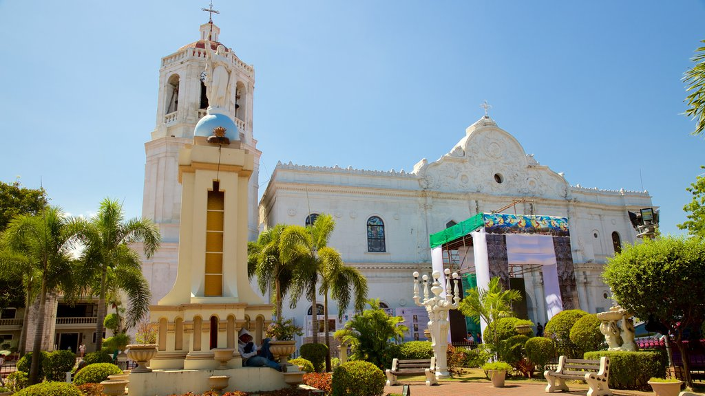 Cebu Metropolitan Cathedral showing heritage architecture, a church or cathedral and religious aspects