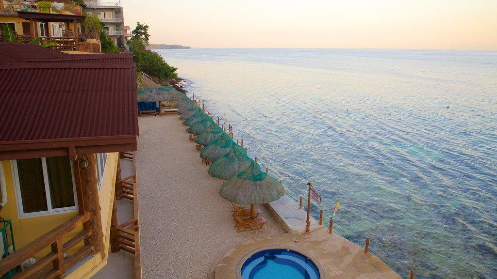 Dalaguete Beach which includes general coastal views