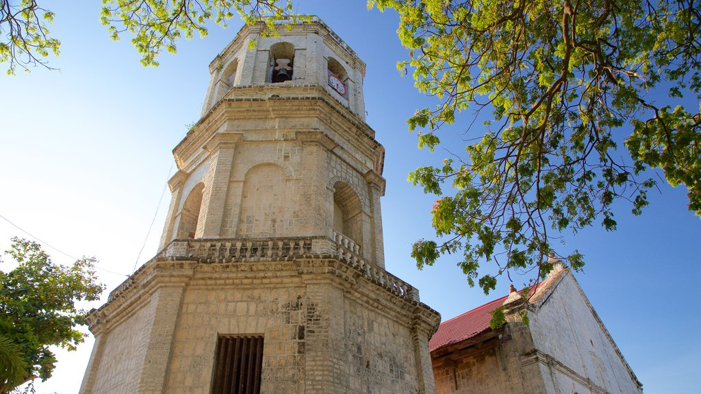 Dalaguete Church featuring heritage architecture