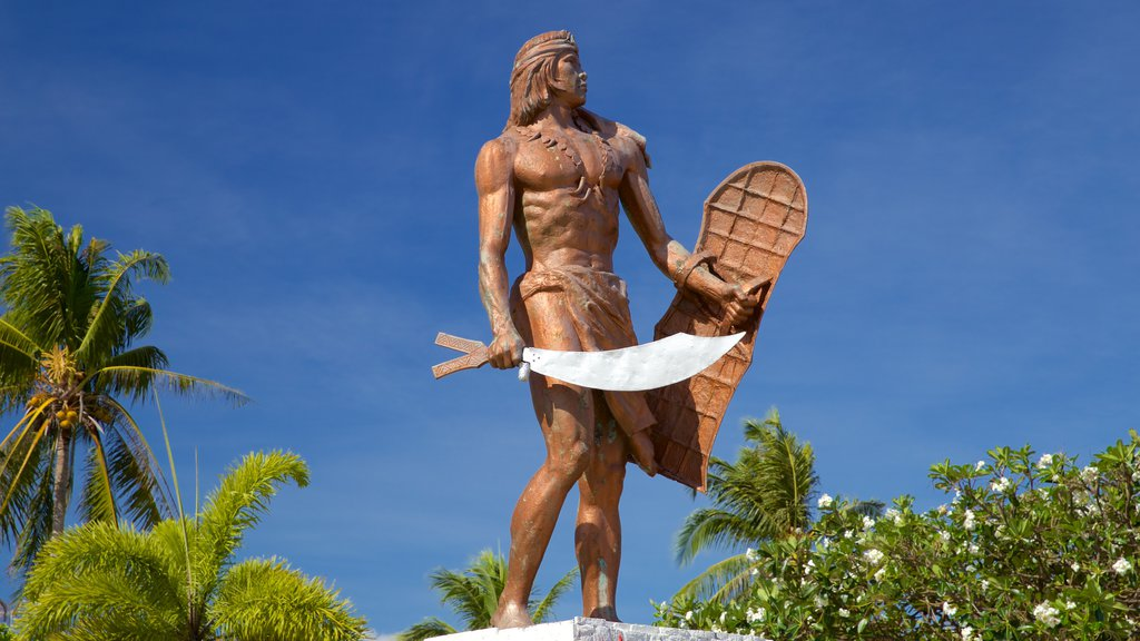 Lapu Lapu which includes a statue or sculpture