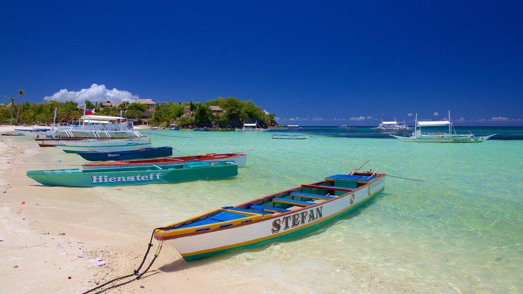 Cebu featuring general coastal views and a beach