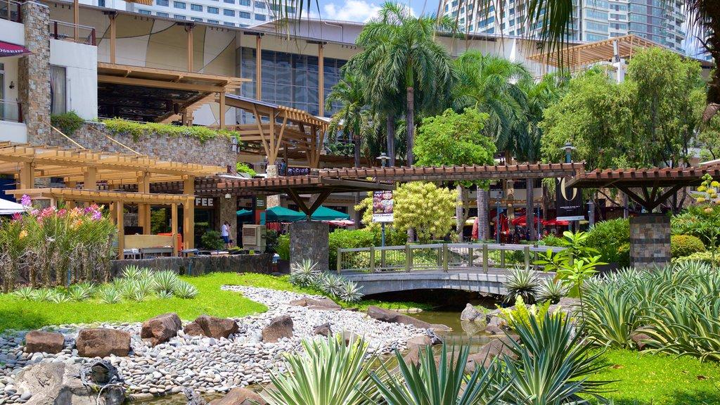 Makati ofreciendo un parque