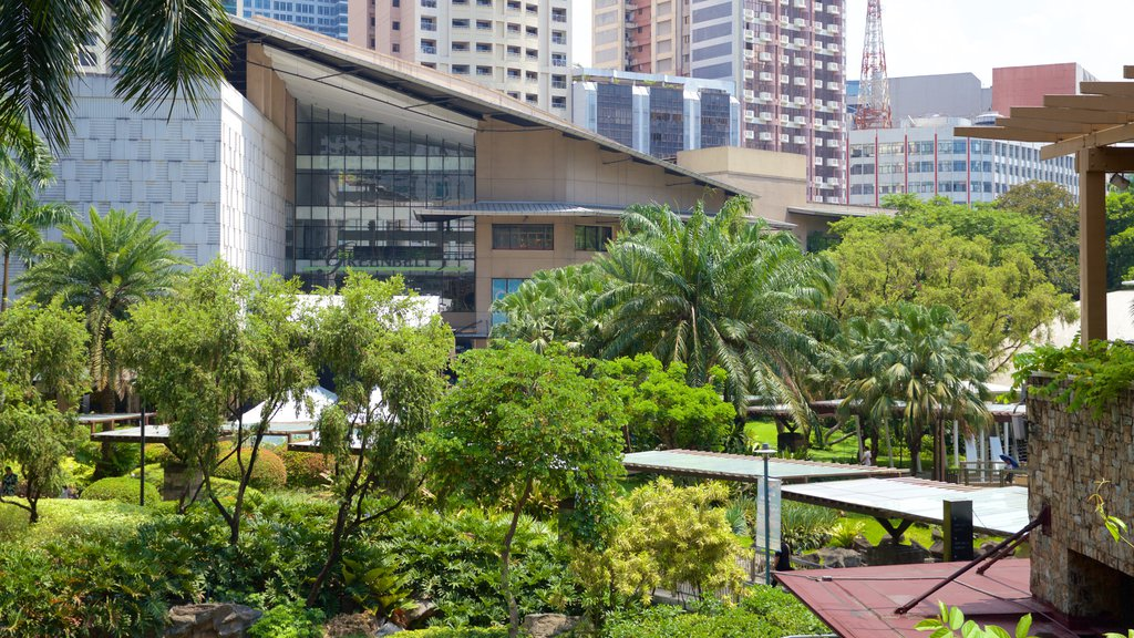 Makati showing a park