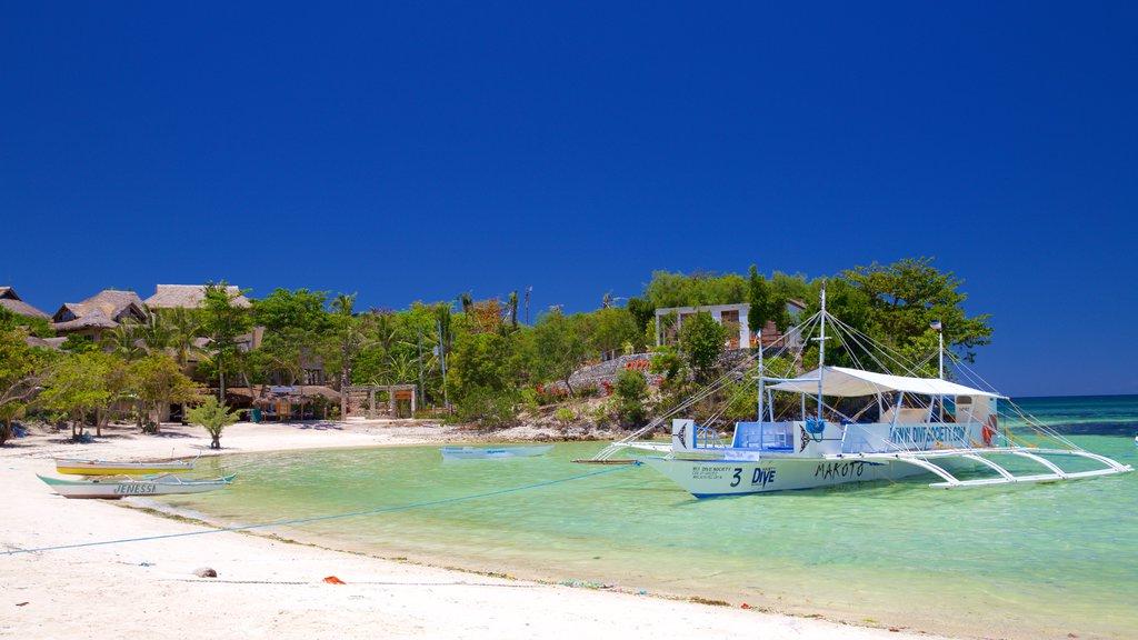 Logon featuring general coastal views and a sandy beach