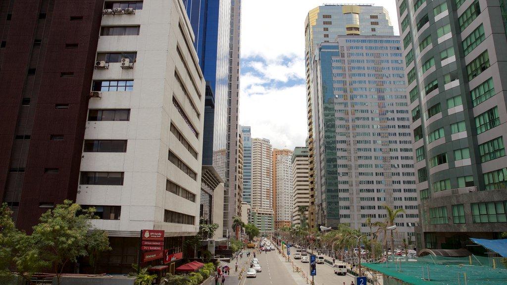 Ortigas Center which includes a city