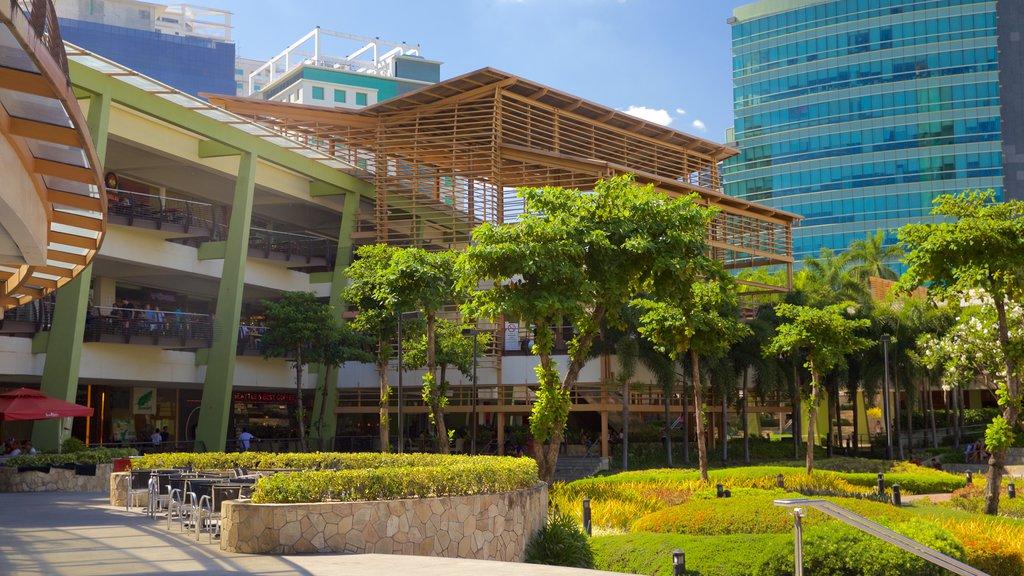 Ayala Center featuring a garden