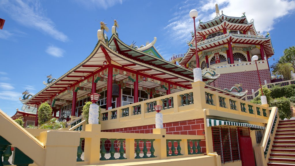 Philippines Taoist Temple which includes religious elements and a temple or place of worship