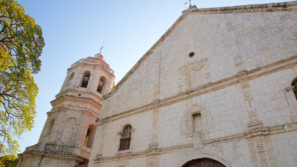 Dalaguete Church which includes a sunset, religious aspects and a church or cathedral