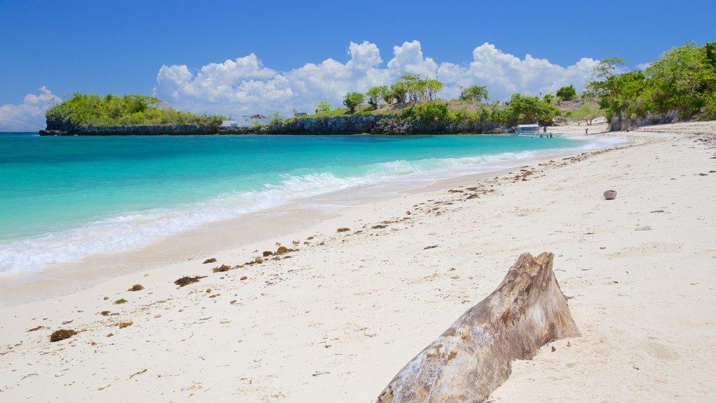 Guimbitayan Beach featuring general coastal views and a beach