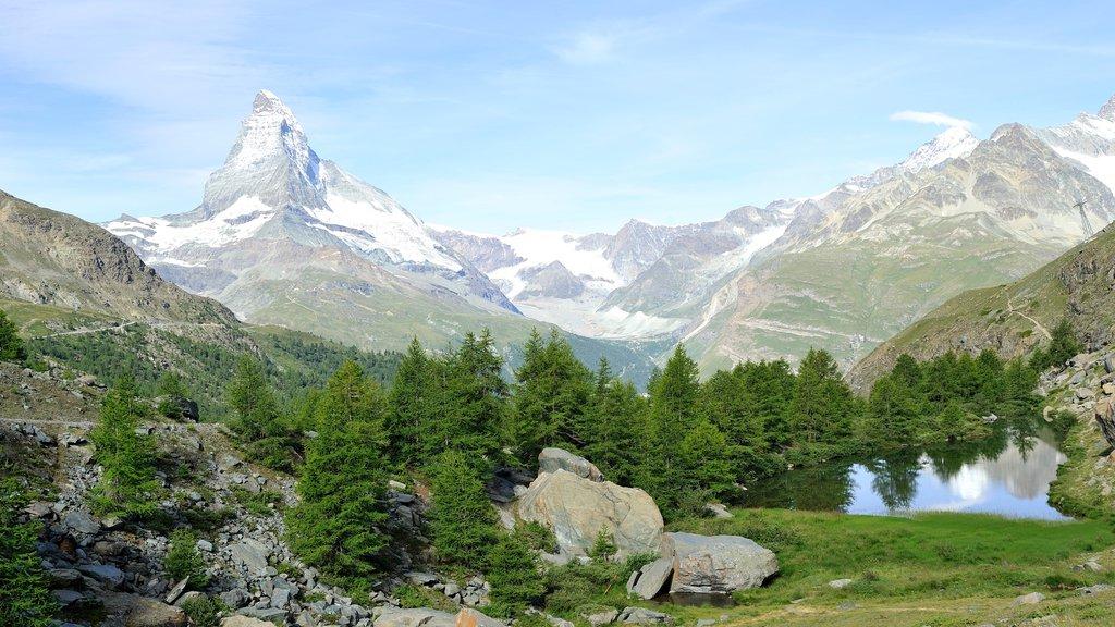 Matterhorn mostrando montañas